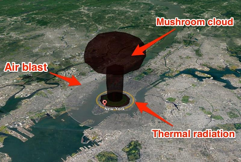 New York Nuclear Attack