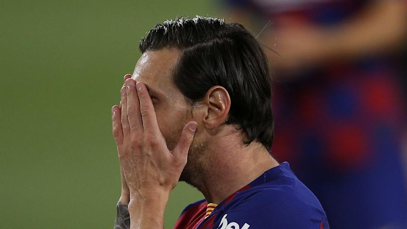 There is always controversy - Setien quells talk of Messi rift