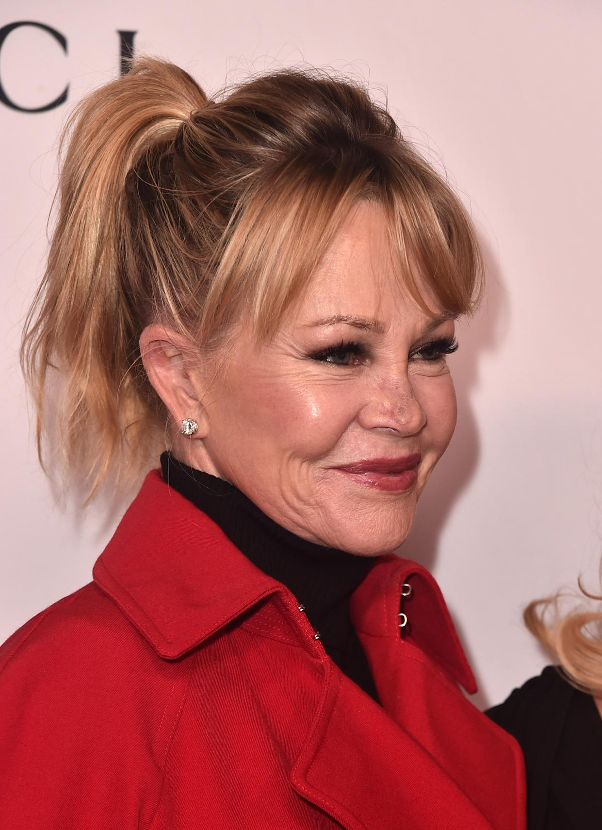 BEVERLY HILLS, CALIFORNIA - DECEMBER 03: Melanie Griffith attends Equality Now's Annual Make Equality Reality Gala at The Beverly Hilton Hotel on December 03, 2018 in Beverly Hills, California. (Photo by Alberto E. Rodriguez/Getty Images)