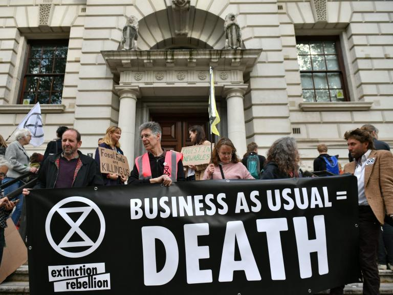 So what if Extinction Rebellion are 'hippies'? They're fighting climate change better than the government ever has