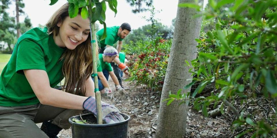 <p>Give back to your community while enjoying the outdoors. </p>