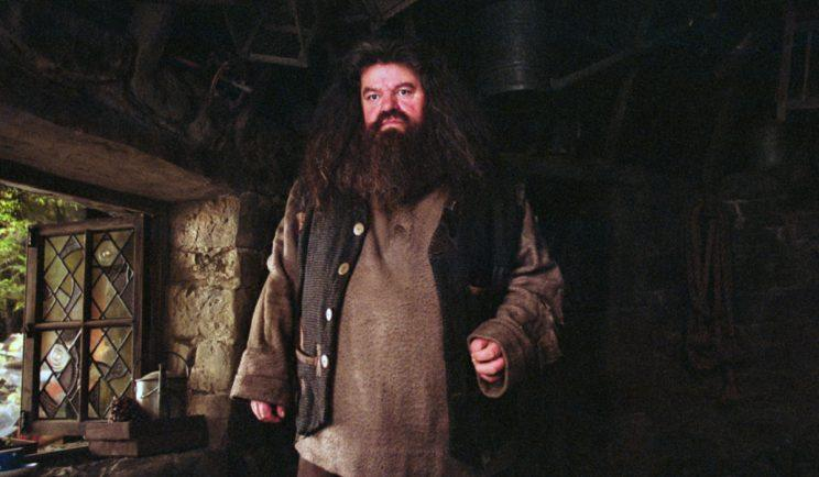 Robbie Coltrane's Hagrid was just perfect - Credit: Warner Bros.