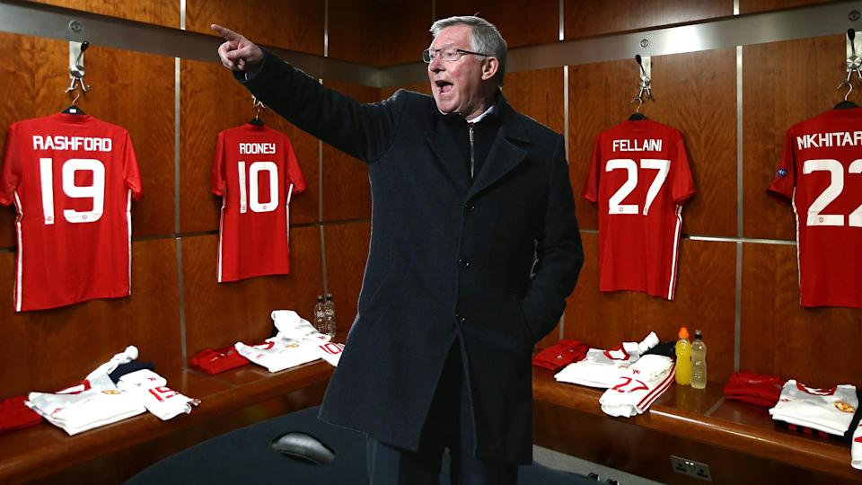 Sir Alex Ferguson was famous for his half-time hairdryer treatment.