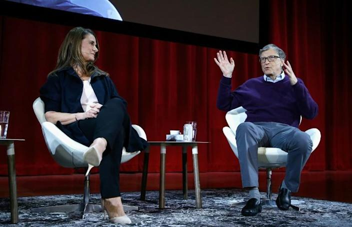 Bill Gates, the Microsoft founder-turned philanthropist (pictured February 2018), and his wife Melinda are divorcing after a 27-year-marriage