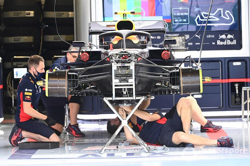 """Red Bull technical detail<span class=""""copyright"""">Mark Sutton / Motorsport Images</span>"""