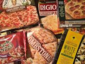 <p>We know frozen pizzas aren't usually what you think of when you picture yourself biting into a hot, delicious slice, but there are times when you can't wait on delivery and frozen will have to do. </p><p>A team of taste-testers sampled every kind of frozen pizza sold at major grocery stores, rating them on a scale of 1 (is this even pizza?) to 5 (is this delivery?), so you don't have to waste your money on the cardboard stuff. </p>