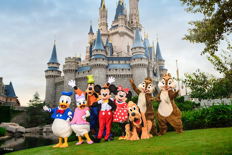 Meet all your favourite Disney characters, from Mickey Mouse to Donald Duck. [Photo: Disney]