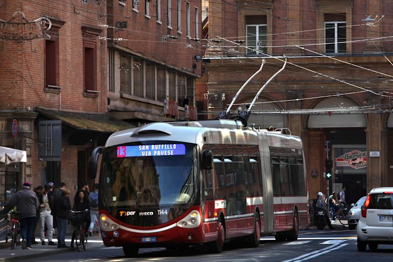 Trolleybus: Bologna has trolleybuses, could London get them back again? (Photo by David Silverman/Getty Images): Getty Images