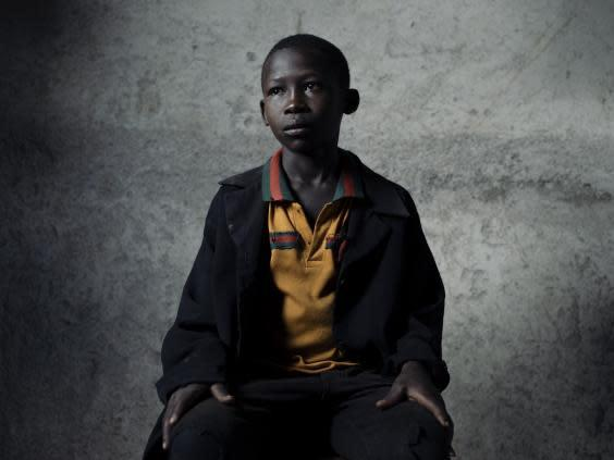 Chacha, 12, has never set foot in a classroom and is one of a reported 1.89 million children in Tanzania who remain out of school (Paddy Dowling/EAA)