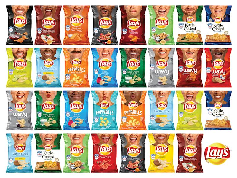 Lay's Unveils 60+ New Potato Chip Bags Starring 31 'Everyday Smilers' in Campaign to Donate $1 Million to Operation Smile