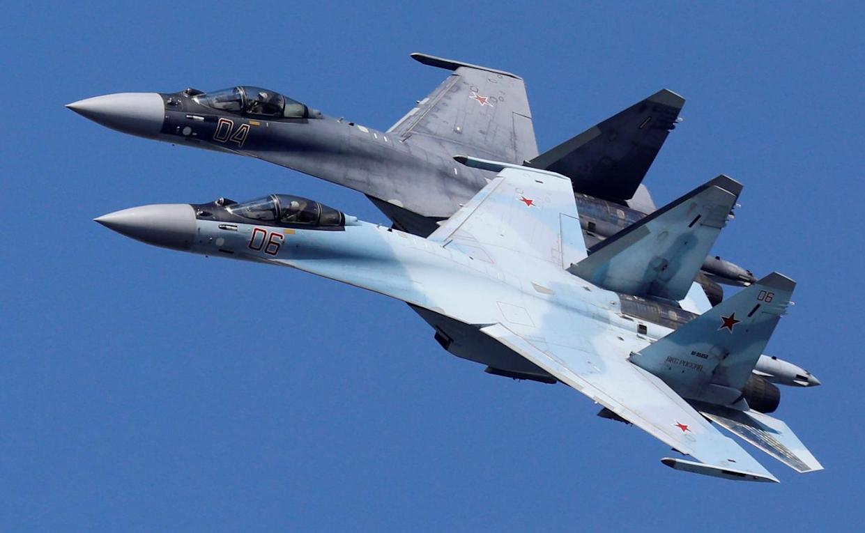 Why China's Air Force Keeps Buying More Russian Su-35 Fighters