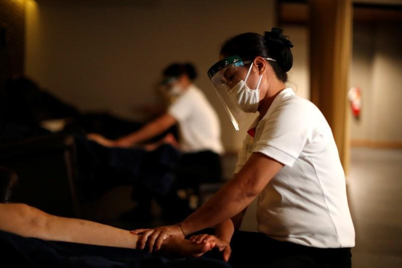 Thais head for movies and massage as virus lockdown eases