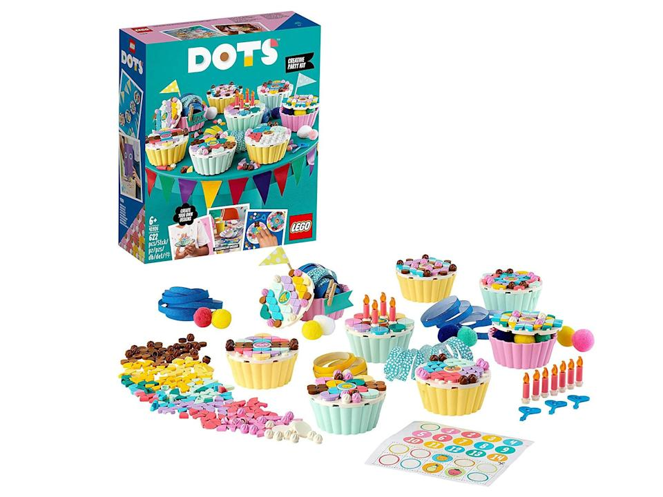 Lego Dots creative party kit with cupcakes 41926: Was £21.99, now £14.59, Amazon.co.uk (IndyBest)