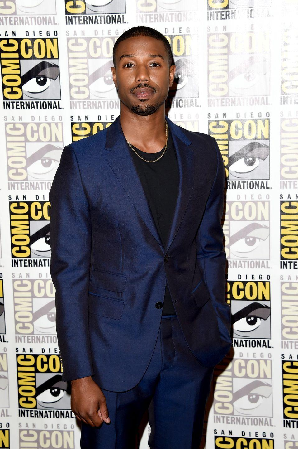 <p>Budding star Michael B. Jordan placed the <em>Rocky</em> franchise on his back when he signed on to lead the next generation of the story in <em>Creed</em>. The actor was already part of Marvel's <em>Fantastic Four </em>franchise before signing onto the film series.</p>