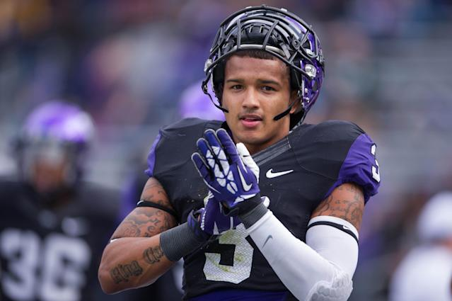 TCU wideout Brandon Carter arrested on marijuana charge