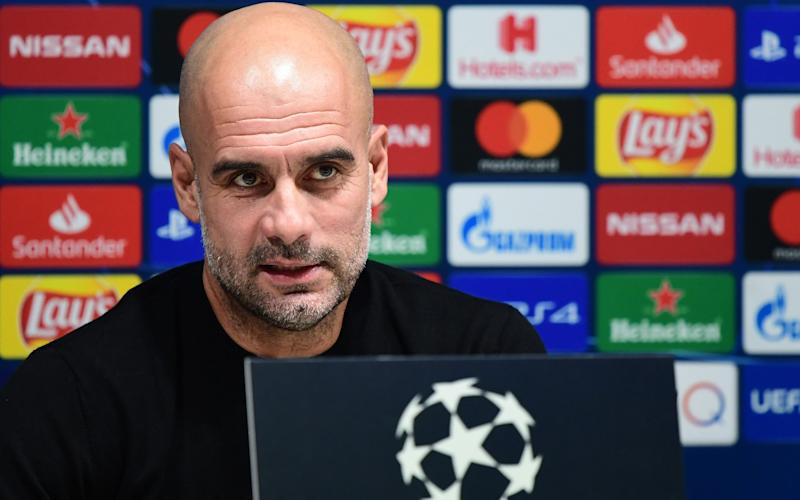 Manchester City manager Pep Guardiola - GETTY IMAGES