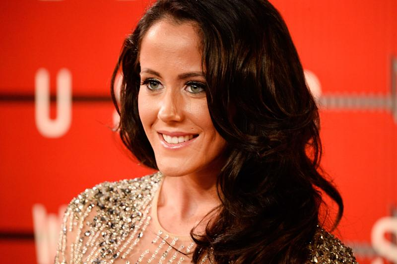Jenelle Evans poses at an event