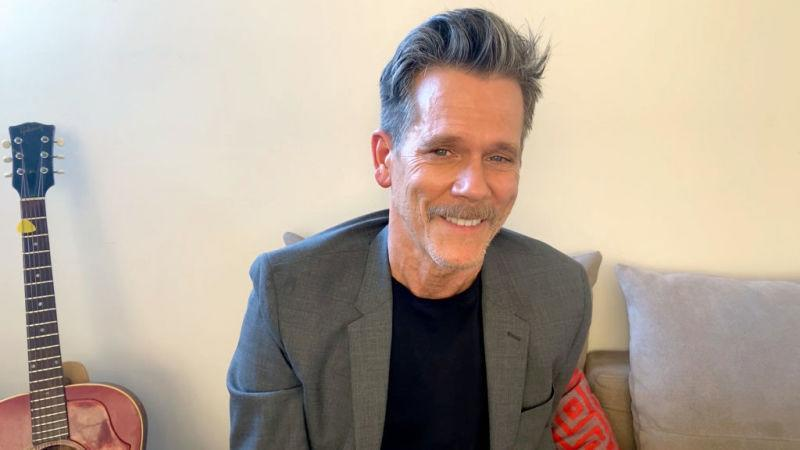 Kevin Bacon, pictured outside of his natural woodland habitat.