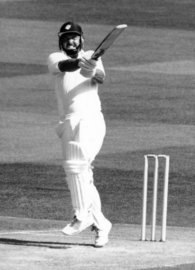 Mike Gatting's dismissal was costly for England (PA Archives)