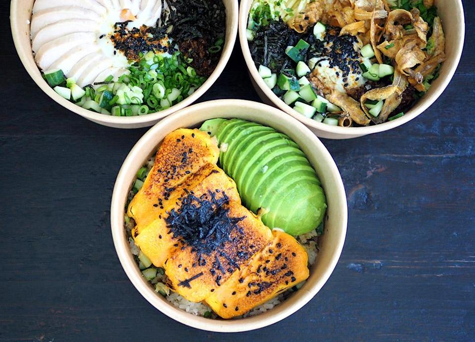The ATM rice bowl will brighten up your day with the tamago topped with mentaiko sauce and creamy just ripe avocado. — Pictures by Lee Khang Yi