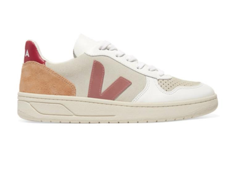 V-10 mesh, suede and leather sneakers. (Photo: Net-A-Porter)