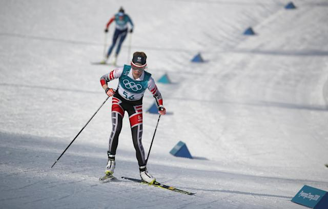 A wrong turn cost Theresa Stadlober a likely medal in the Olympics' final women's cross-country race. (Reuters)