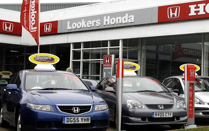 The Society of Motor Manufacturers and Traders has reported falling sales of new cars since April - PA