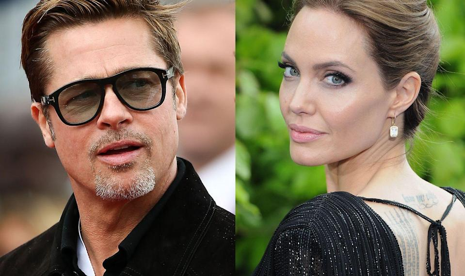 Angelina Jolie claims Brad Pitt is behind in child support payments. (Getty Images)