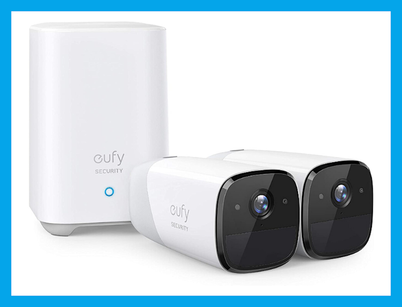 This eufyCam 2 Wireless Home Security Camera System two-cam kit is 25 percent off, today only! (Photo: eufy)