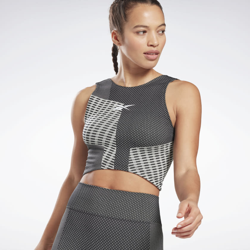 Seamless Crop Top. Image via Reebok.