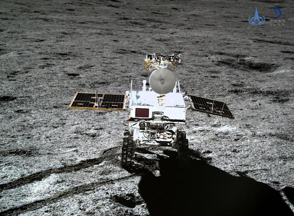 China became the first nation to land a rover on the far side of the moon when its Chang'e-4 touched down in January (AFP Photo/-)