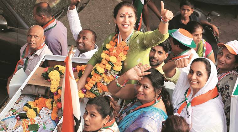 Lok Sabha elections 2019: Urmila files complaint against BJP activists, seeks 24-hour police protection
