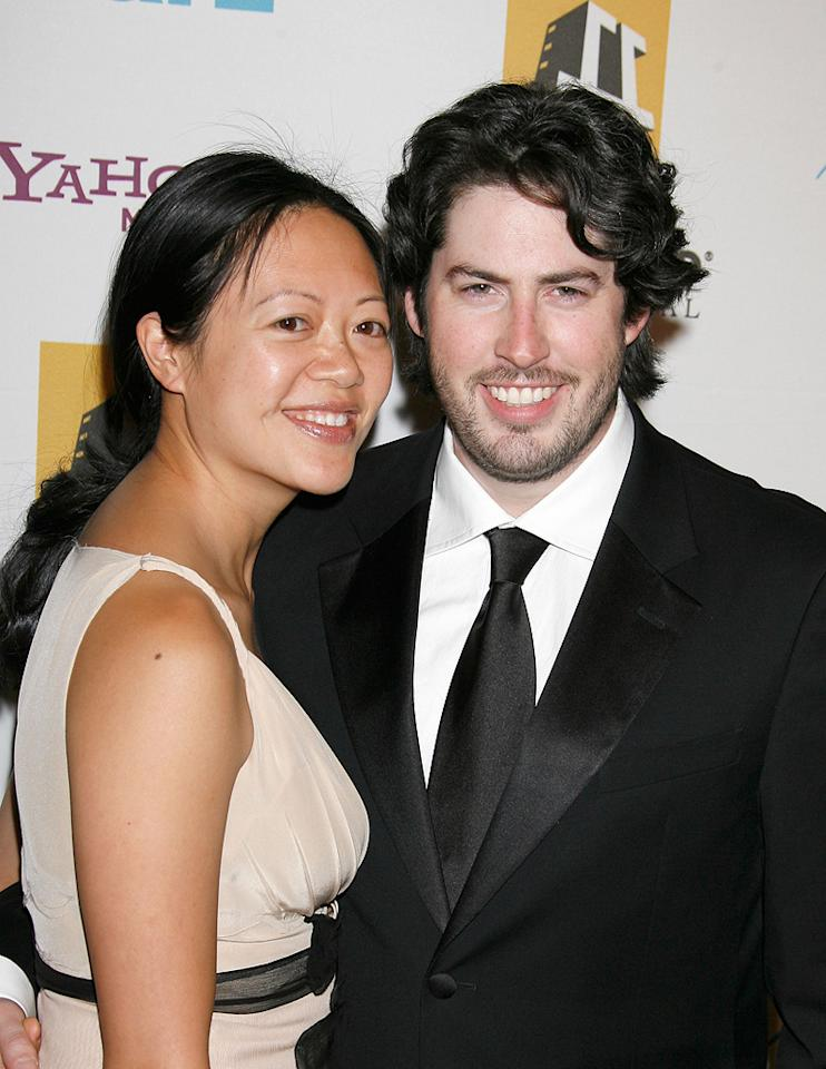 """<a href=""""http://movies.yahoo.com/movie/contributor/1804141701"""">Jason Reitman</a> and guest at the Hollywood Film Festival's Hollywood Awards in Beverly Hills - 10/22/2007"""