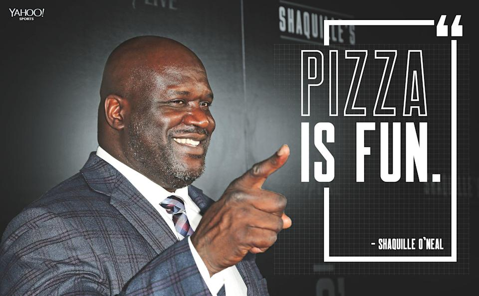 Shaquille O'Neal is expanding his handle on food to pizza chains.