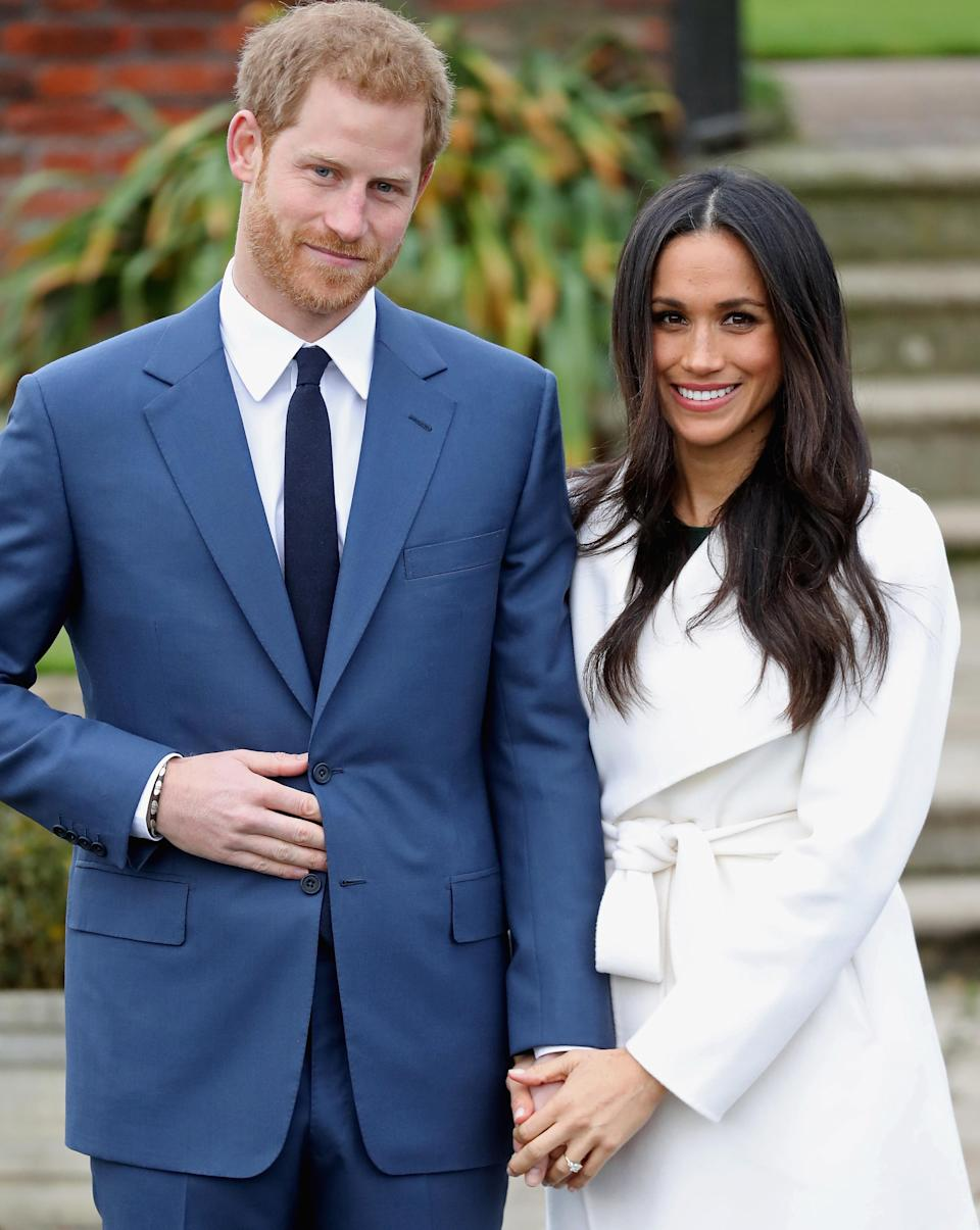 Prince Harry and Meghan Markle have a sweet treat planned for their special day. (Photo: Chris Jackson/Getty Images)