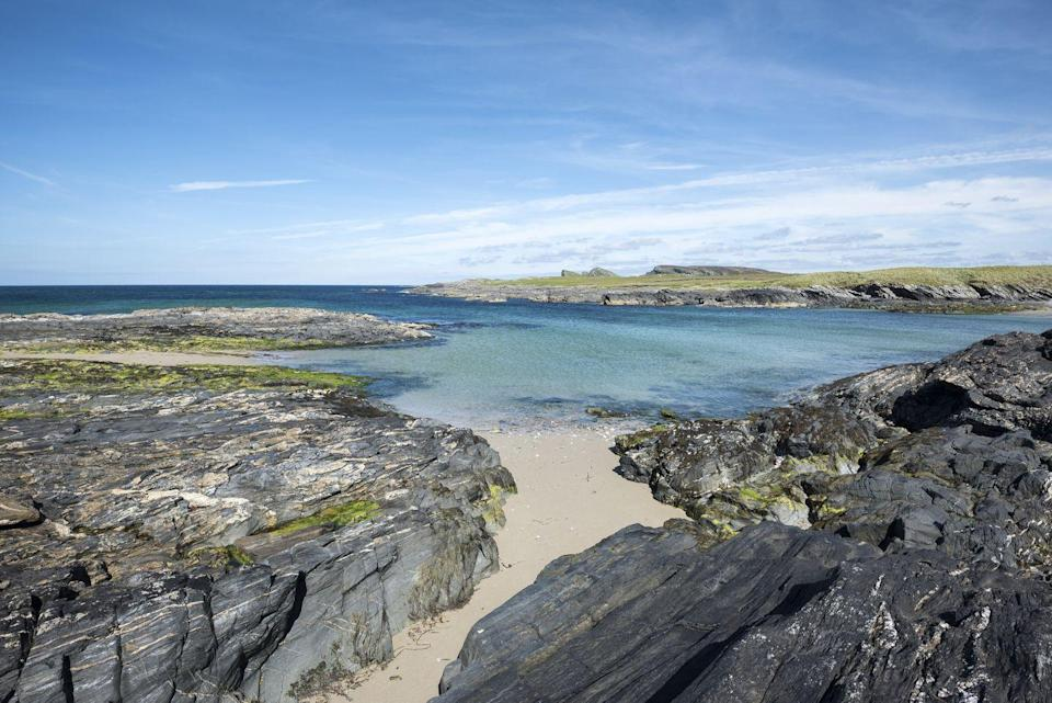 """<p>Islay - also known as the 'Queen of the Hebrides' - is Scotland's whisky isle, where you can sip single malts in one of nine working distilleries. </p><p>It's also the perfect spot for bird watchers, who will be keen to see the beautiful hen harriers up on Loch Gruinart Nature Reserve and the large flocks of wild geese who visit the isle every winter on their long journey to Canada. </p><p>Top tip: it's pronounced 'eye-lah'.</p><p><strong>You can visit Islay with Good Housekeeping this summer.</strong></p><p><a class=""""link rapid-noclick-resp"""" href=""""https://www.goodhousekeepingholidays.com/tours/uk-scotland-west-coast-tradewind-cruise"""" rel=""""nofollow noopener"""" target=""""_blank"""" data-ylk=""""slk:FIND OUT MORE"""">FIND OUT MORE</a></p>"""