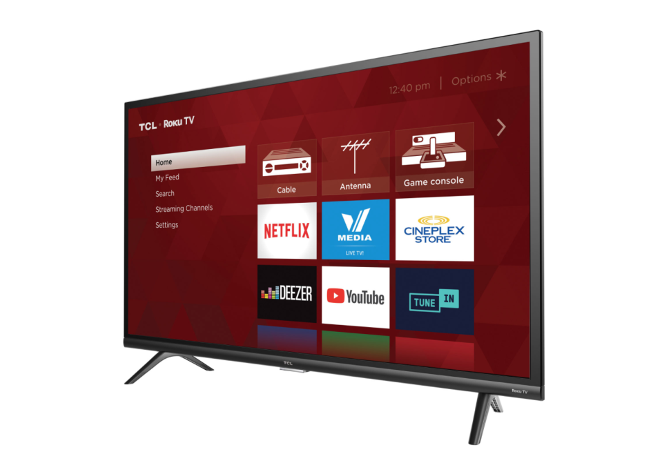 "TCL 3-Series 32"" 1080p HD LED Roku Smart TV. Image via Best Buy."