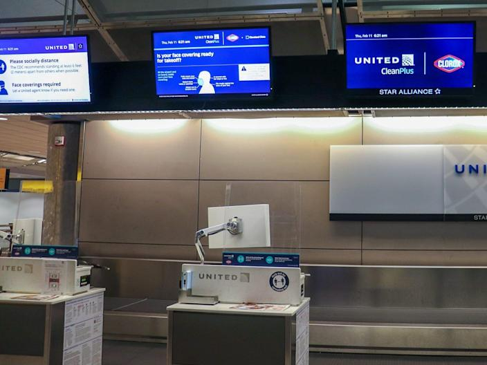 Flying United Airlines during pandemic