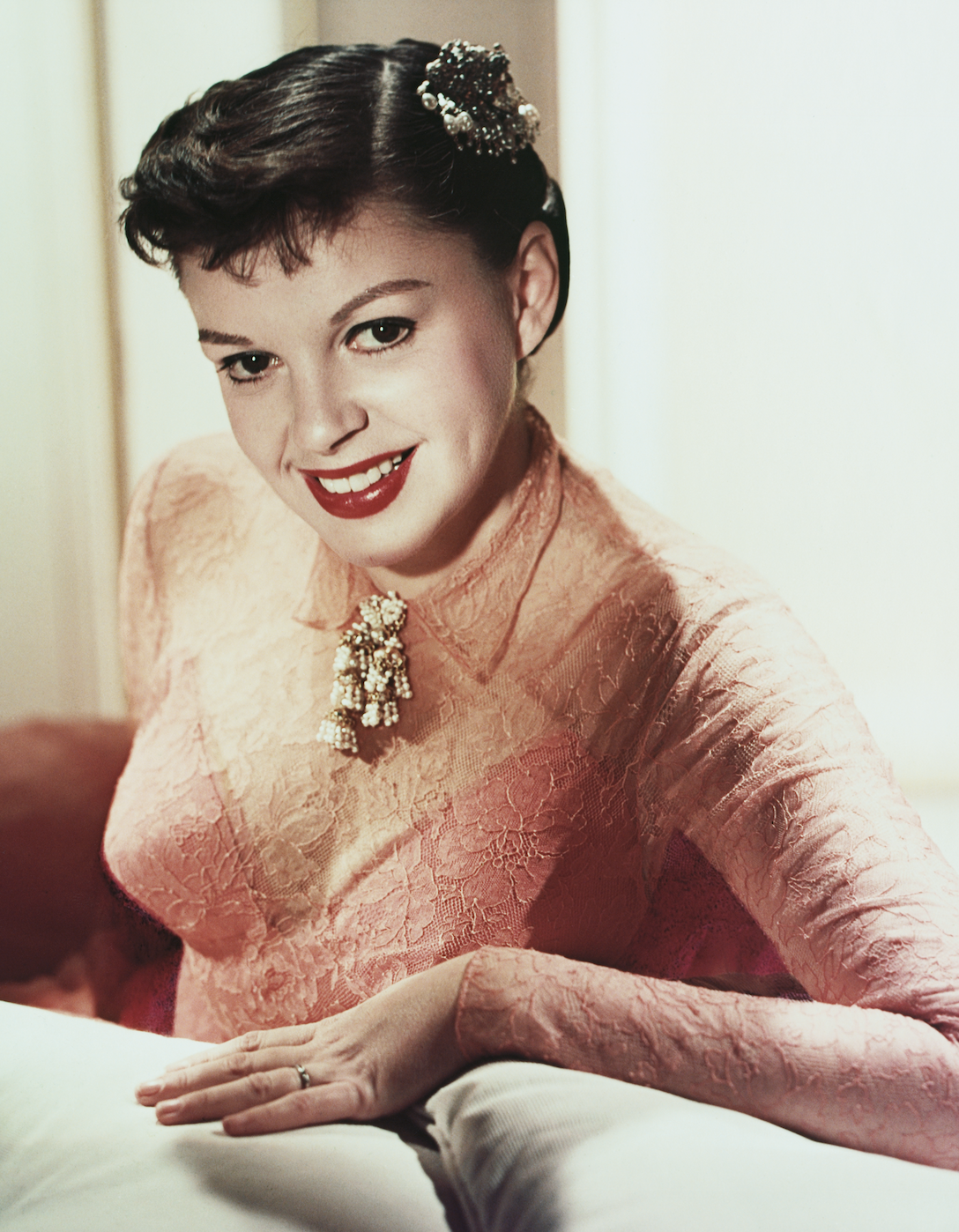 Judy Garland suffered from scoliosis, according to her biographers. [Photo: Getty]