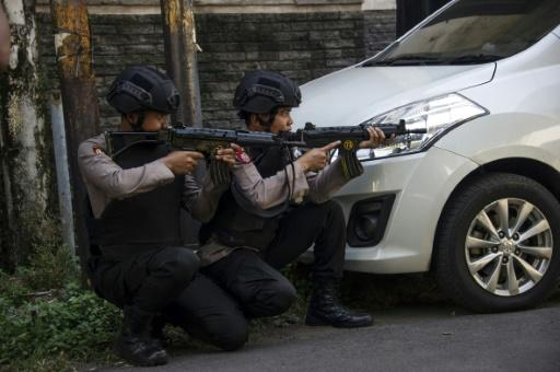 National police chief Tito Karnavian said the attacks in Indonesia's second city Surabaya may have also been motivated by the arrest of leaders of extremist network Jamaah Ansharut Daulah which supports IS