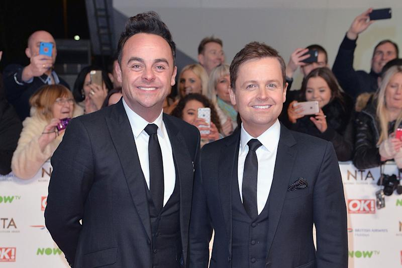 Saturday Night Takeaway: Ant and Dec's famous show will be broadcast live from Disney World: Anthony Harvey/Getty Images