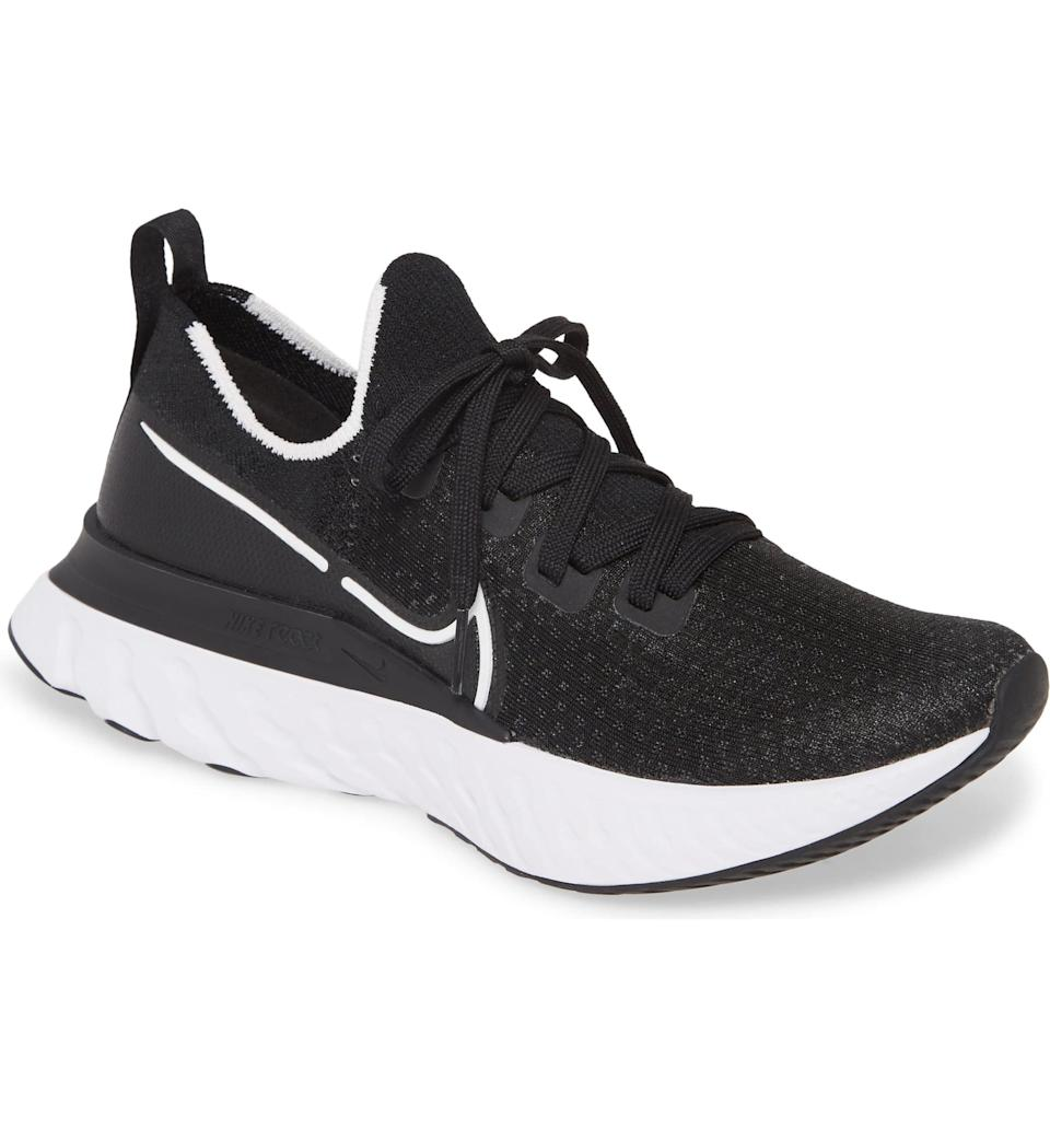 <p>This new <span>Nike React Infinity Run Flyknit Running Shoe</span> ($160) was actually created to prevent injury while running, and we're so into it.</p>