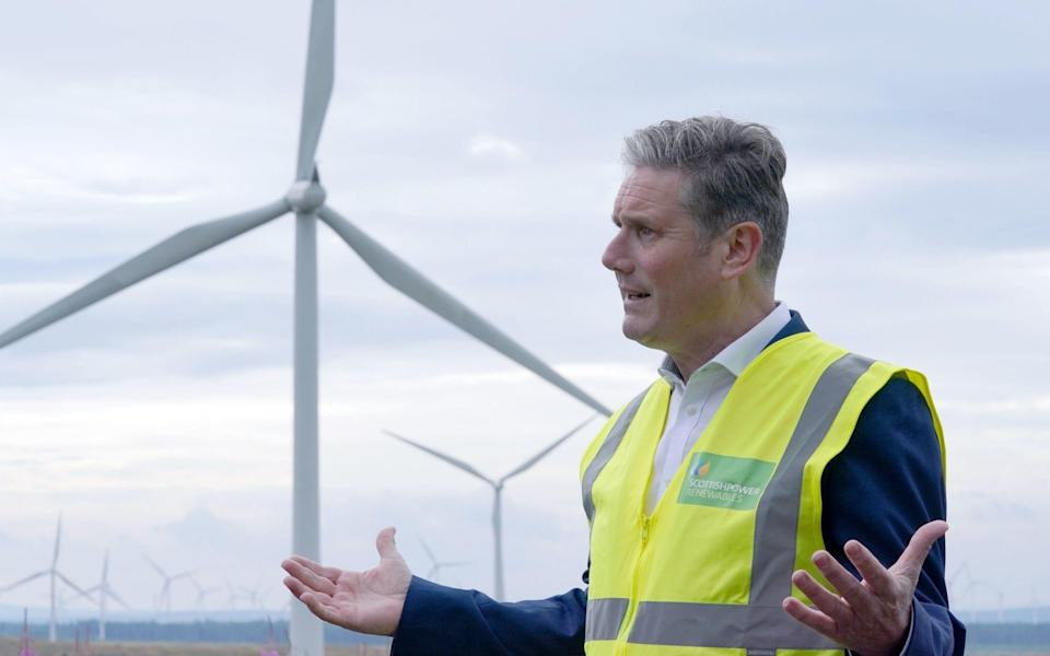 Sir Keir Starmer made the remarks on a visit to Scotland - Andrew Milligan/PA Wire