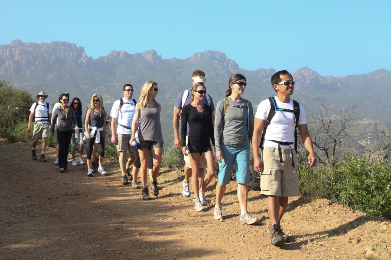 "<p>Set on a historic working ranch, this <a href=""http://theranchmalibu.com/"">luxury boot camp</a> in Malibu offers a no-option, daily fitness routine of group hikes, core and ab work, weights, daily yoga sessions and private afternoon massages. <i>(Photo: Courtesy of Ranch at Live Oak)</i></p>"