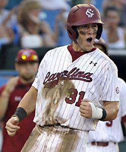 Evan Marzilli and South Carolina won four straight elimination games to reach the final series