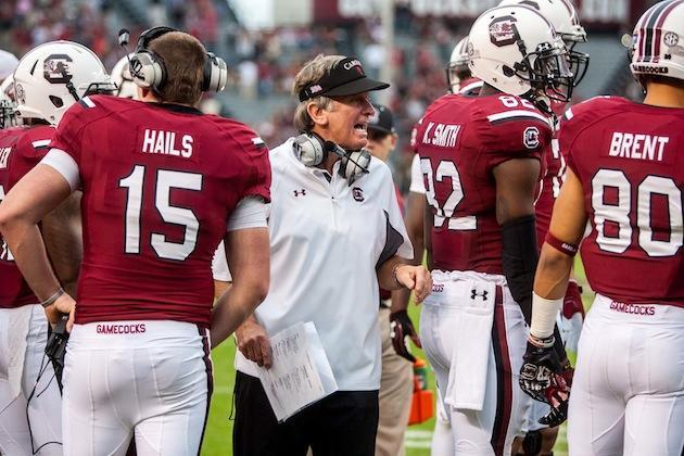 Steve Spurrier says he didn't know that Jadeveon Clowney's car could go that fast