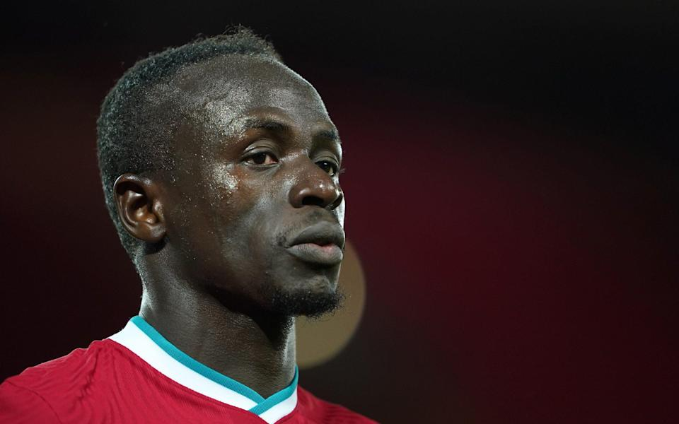 Sadio Mane of Liverpool looks on during the Premier League match between Liverpool and Southampton at Anfield on May 08, 2021 in Liverpool, England. - GETTY IMAGES