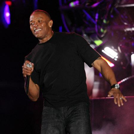 Dr. Dre helps rapper shape up