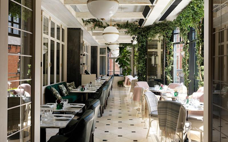 Wilde Restaurant at The Westbury provides a beguiling setting to enjoy a romantic meal