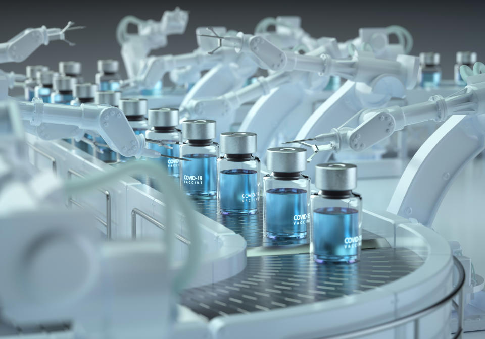 GSK will also support the manufacture of up to 100 million doses of CureVac's first generation COVID-19 vaccine candidate CVnCoV, in 2021. Photo: Getty Images